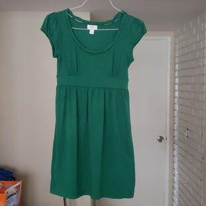 Green Dress by Ann Taylor Loft